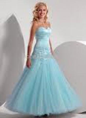 Moja stránka - fotoalbum - plesové šaty - modré plesové šaty